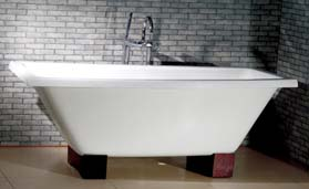 cast iron modern tubs